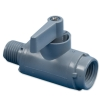 "1/4"" FNPT x 1/4"" MNPT  Series 226 PVC Ball Valve with Buna-N Seals"