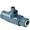 "1/4"" OD Tube J. Guest x 1/4"" OD Tube J. Guest Series 226 PVC Ball Valve with Viton™ Seals"