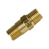 "1/4"" MNPT x 1/4"" MNPT Series 410 Brass Check Valve with Buna-N Seals - 1 psi"