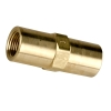 "3/8"" FNPT x 3/8"" FNPT Series 615 Brass Check Valve with Buna-N Seals - 1 PSI"