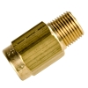 "1/2"" FNPT x 1/2"" MNPT Series 810 Brass Check Valve with Buna-N Seals -  1 PSI"