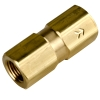 "1/8"" FNPT x 1/8"" FNPT Series 215 Brass Check Valve with Buna-N Series - 1 PSI"