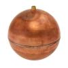 "5"" Diameter Bob® Copper Round Float with 1/4""-20 SAE Thread"