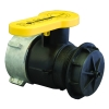 "2"" Polypropylene IBC Valve Male QDC Outlet with Foil Seal & Cap"