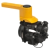 "2"" Male Polypropylene Dry-Mate® Full Port Ball Valve"