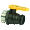 "2"" Spinweld Valve with QDC Outlet & EPDM Gasket"