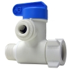"3/8"" Male x 3/8"" Female x 1/4"" Tube OD PP Angle Stop Adapter Valve"