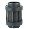 "3"" NPT PVC CKS Diaphragm Check Valve with Viton™ Seals"