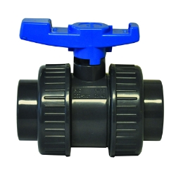 "4"" Threaded PVC Economy True Union Ball Valve with EPDM O-rings"