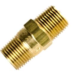 "1/2"" MNPT x 1/2"" MNPT Series 810 Brass Check Valve with Buna-N Seals -  1 PSI"
