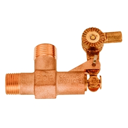 "1/2"" NPT Inlet x 1/2"" NPT Outlet BOB® Brass Float Valve"