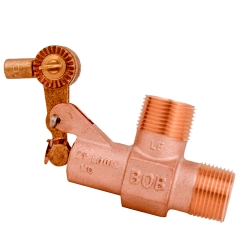 "3/4"" NPT Inlet x 3/4"" NPT Outlet BOB® Brass Float Valve"