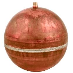 "6"" Diameter Bob® Copper Round Float with 1/4""-20 SAE"