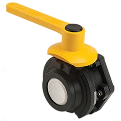 "3"" Male Polypropylene Dry-Mate® Full Port Ball Valve"