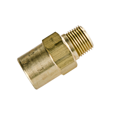 "3/8"" MNPT x 3/8"" FNPT Series 610 Brass Check Valve with Buna-N Seals - 1 PSI"