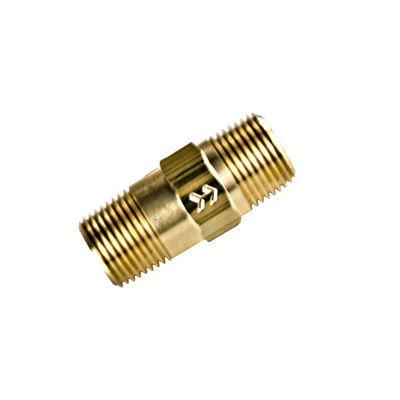 "3/8"" MNPT x 3/8"" MNPT Series 610 Brass Check Valve with Buna-N Seals - 1 PSI"