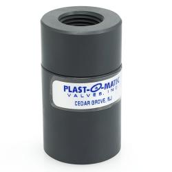 "1/4"" NPT Polypropylene CKD Compact Diaphragm Check Valve with EPDM Disc"