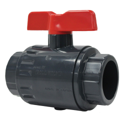 "Omni® Type 27 Ball Valve PVC 1-1/2"" Threaded"