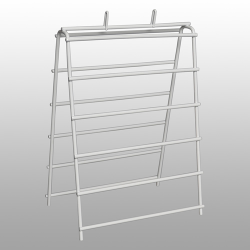 Wire Saddle Pack Stand - 6