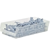Quantum® Clear Economy Shelf Bins