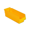"11-5/8"" L x 4-1/8"" W x 4"" H Yellow Self Bin"