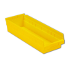 "17-7/8"" L x 6-5/8"" W x 4"" Hgt. Yellow Shelf Bin"