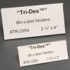 Tri•Dex™ Label Holders