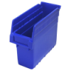 "11-5/8"" L x 4-3/8"" W x 8"" H Blue Store-Max Shelf Bin"