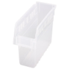 "11-5/8"" L x 4-3/8"" W x 8"" H Clear Store-Max Shelf Bin"