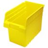 "11-5/8"" L x 6-5/8"" W x 8"" H Yellow Store-Max Shelf Bin"