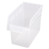 "11-5/8"" L x 6-5/8"" W x 8"" H Clear Store-Max Shelf Bin"