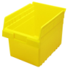 "11-5/8"" L x 8-3/8"" W x 8"" H Yellow Store-Max Shelf Bin"