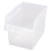 "11-5/8"" L x 8-3/8"" W x 8"" H Clear Store-Max Shelf Bin"