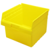 "11-5/8"" L x 11-1/8"" W x 8"" H Yellow Store-Max Shelf Bin"