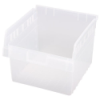 "11-5/8"" L x 11-1/8"" W x 8"" H Clear Store-Max Shelf Bin"