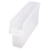 "17-7/8"" L x 4-3/8"" W x 8"" H Clear Store-Max Shelf Bin"