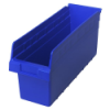 "17-7/8"" L x 6-5/8"" W x 8"" H Blue Store-Max Shelf Bin"