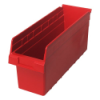 "17-7/8"" L x 6-5/8"" W x 8"" H Red Store-Max Shelf Bin"