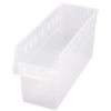 "17-7/8"" L x 6-5/8"" W x 8"" H Clear Store-Max Shelf Bin"
