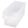 "17-7/8"" L x 8-3/8"" W x 8"" H Clear Store-Max Shelf Bin"