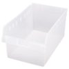 "17-7/8"" L x 11-1/8"" W x 8"" H Clear Store-Max Shelf Bin"