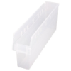 "23-5/8"" L x 4-3/8"" W x 8"" H Clear Store-Max Shelf Bin"