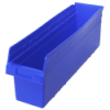 "23-5/8"" L x 6-5/8"" W x 8"" H Blue Store-Max Shelf Bin"