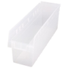 "23-5/8"" L x 6-5/8"" W x 8"" H Clear Store-Max Shelf Bin"