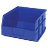 "12"" L x 11"" W x 7"" Hgt. Quantum® Blue  Stackable Shelf Bin"