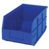 "14"" L x 8-1/4"" W x 7"" Hgt. Quantum® Blue  Stackable Shelf Bin"