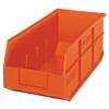 "18"" L x 8-1/4"" W x 7"" Hgt. Quantum® Orange  Stackable Shelf Bin"