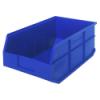 "18"" L x 11"" W x 7"" Hgt. Quantum® Blue  Stackable Shelf Bin"
