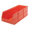 "20-1/2"" L x 8-1/4"" W x 7"" Hgt. Quantum® Orange Stackable Shelf Bin"