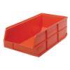 "20-1/2"" L x 11"" W x 7"" Hgt. Quantum® Orange Stackable Shelf Bin"